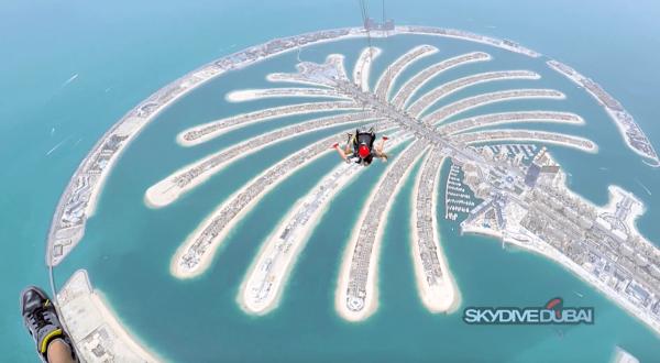 "Fallschirmspringen in Dubai – Unser ""erstes Mal"" bei SkyDive Dubai"