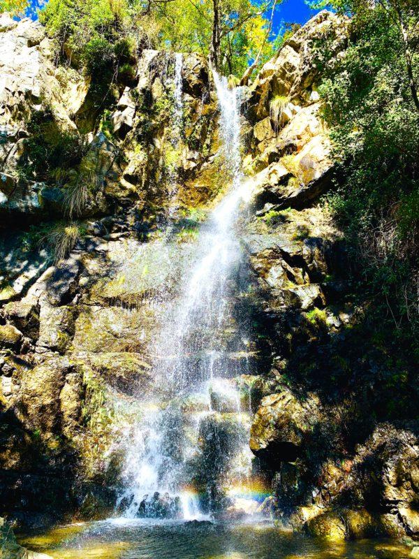 Caledonia Wasserfall auf Zypern