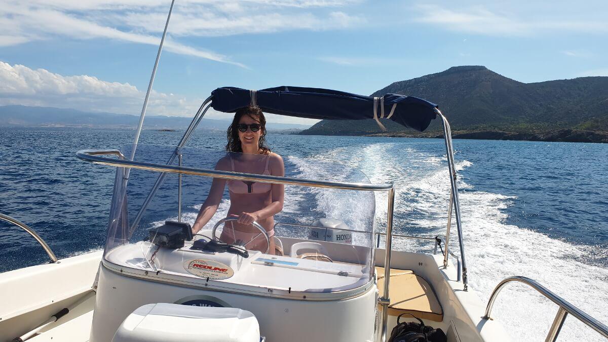 Eigenes Boot mieten ist auf Zypern kein Problem