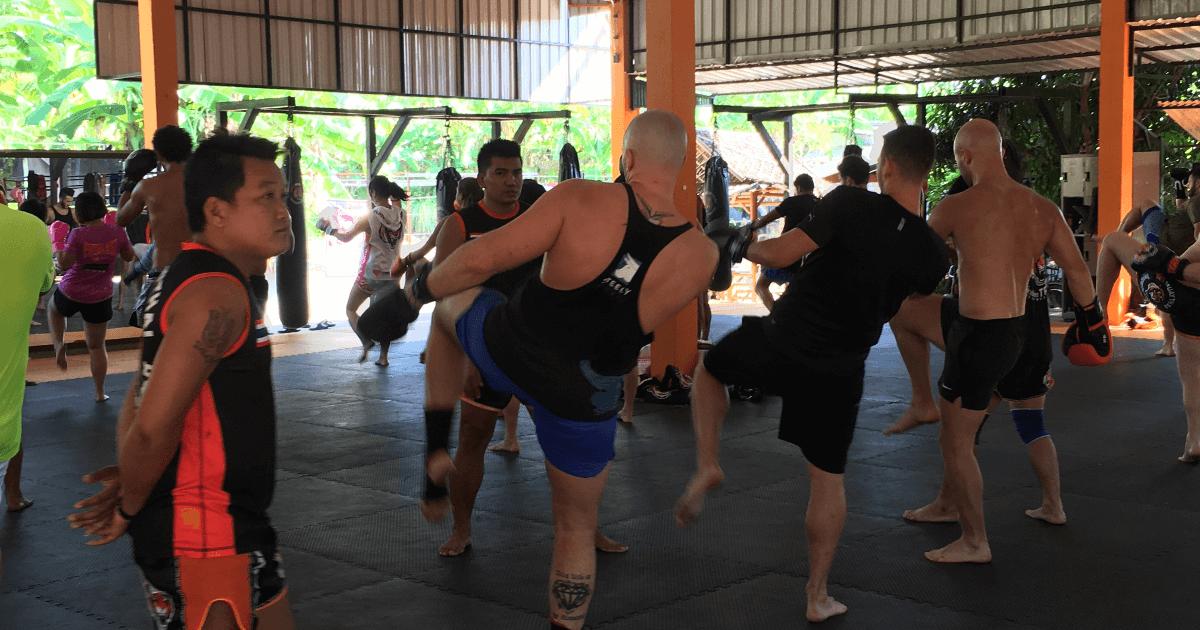Tiger Muay Thai Camp in Phuket