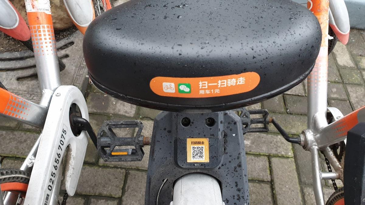Fahrrad ausleihen mit WeChat