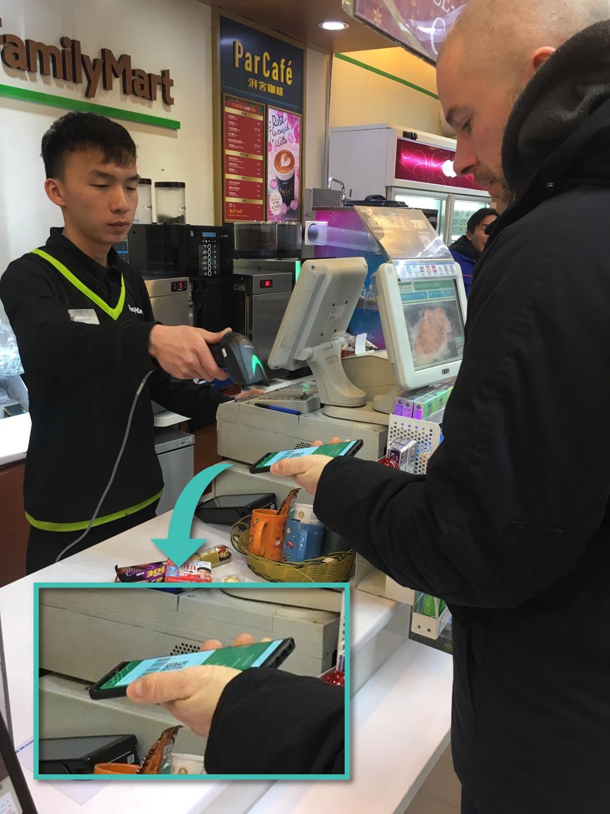 Bezahlen im Laden mit WeChat Pay