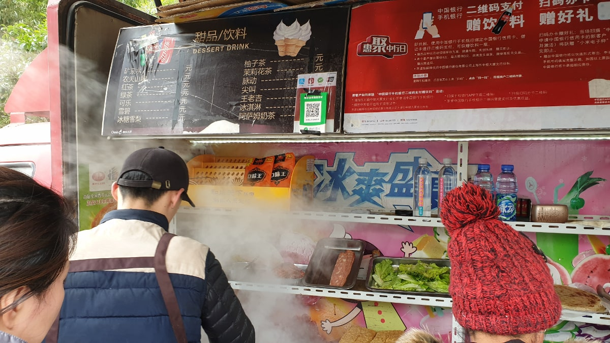 Jeder Foodtruck akzeptiert WeChat Pay