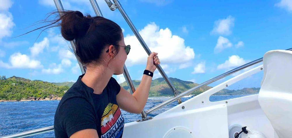 Auf dem Weg nach Curieuese Island