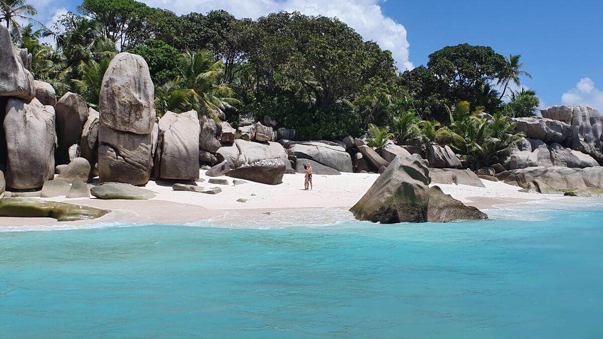 Cocos Island, einsam und verlassen