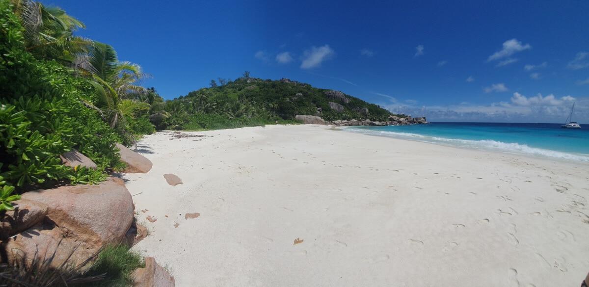 Der Strand von Grand Soeur