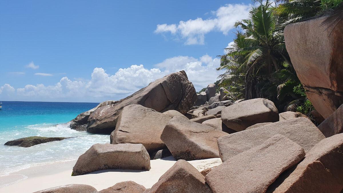 Felsformation Grand Soeur, Seychellen