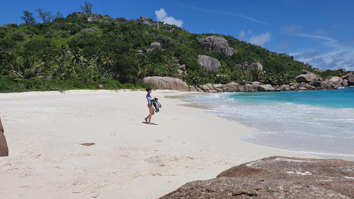 Schnorcheln Grand Soeur, Seychellen