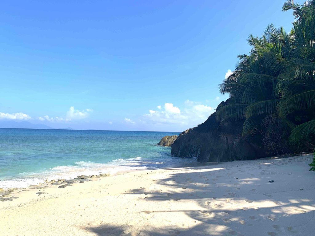 Traumhafter, leerere Anse Patates